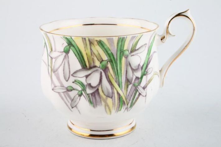Royal Albert Flower of the Month Series - Hand Painted - Snowdrops No.1