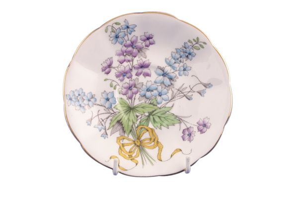 Royal Albert Flower of the Month Series - Hand Painted - Larkspur No.7