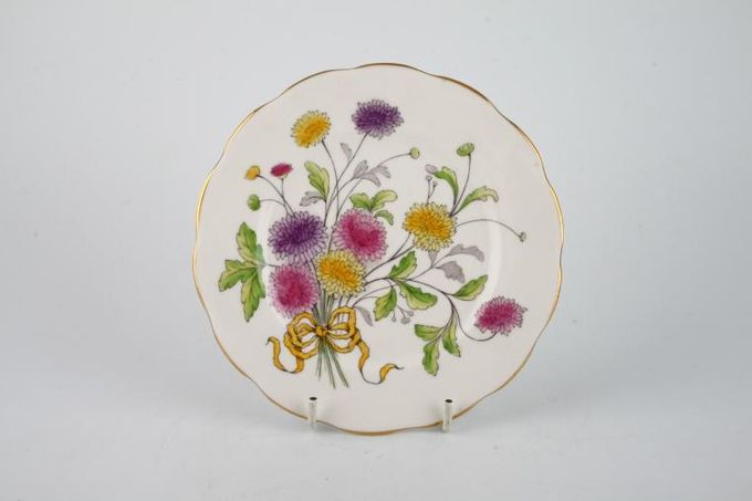 Royal Albert Flower of the Month Series - Hand Painted - Chrysanthemum No.11 Tea / Side Plate Style 1 6 1/4""