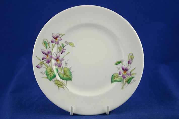 Royal Albert Flowers of the Month - No gold around rim-February-Violet
