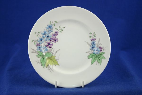 Royal Albert Flowers of the Month - No gold around rim-July-Larkspur