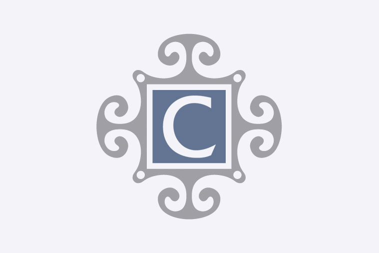 Royal Albert Flowers of the Month - No gold around rim-October-Cosmos Tea Saucer 5 1/2""