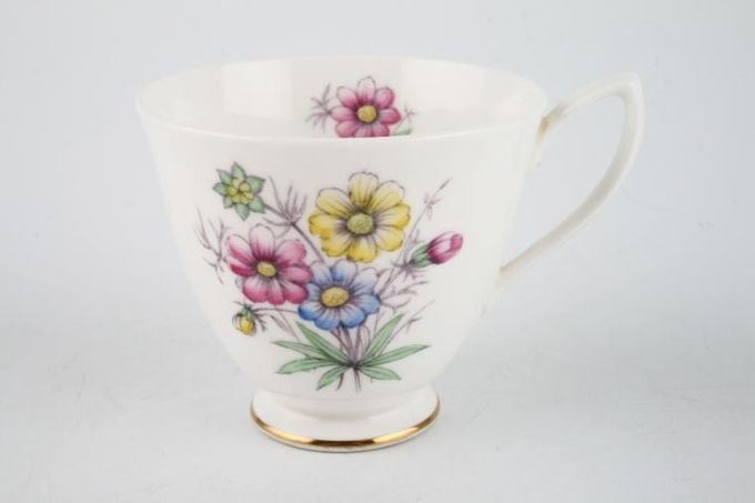 """Royal Albert Flowers of the Month - No gold around rim-October-Cosmos Teacup 3 1/4 x 2 7/8"""""""