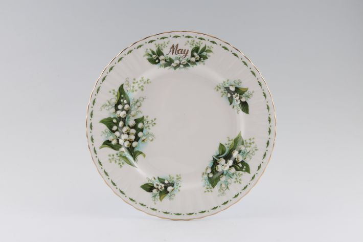 Royal Albert Flower of the Month Series - Montrose - May - Lily of the Valley
