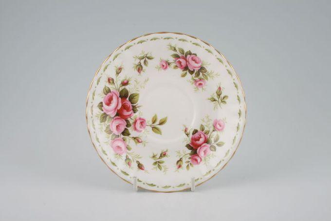 "Royal Albert Flower of the Month Series - Montrose - June - Roses Tea Saucer 5 1/2"""