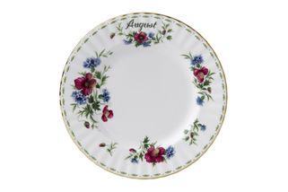 Royal Albert Flower of the Month Series - Montrose - August - Poppy Dinner Plate