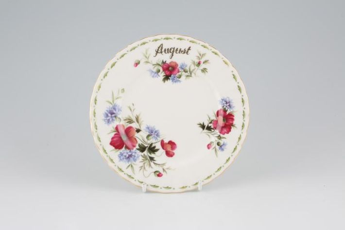 Royal Albert Flower of the Month Series - Montrose - August - Poppy