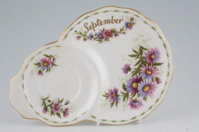 Royal Albert Flower of the Month Series - Montrose - September - Michaelmas D TV Tray
