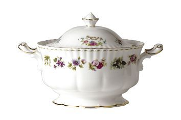 Royal Albert Flower of the Month Series - Montrose - All Flowers Soup Tureen + Lid