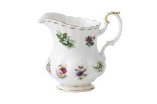 Royal Albert Flower of the Month Series - Montrose - All Flowers Milk Jug