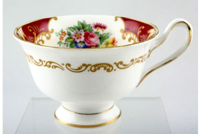 "Royal Albert Canterbury Teacup Pattern in cup 4 x 2 3/4"""