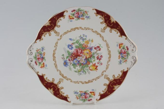 Royal Albert Canterbury Cake Plate Round - Eared