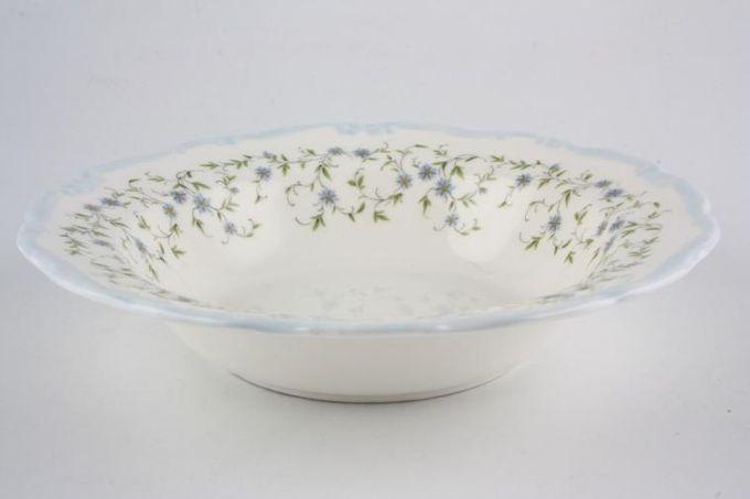 "Royal Albert Caroline Rimmed Bowl Soup/dessert 8"""