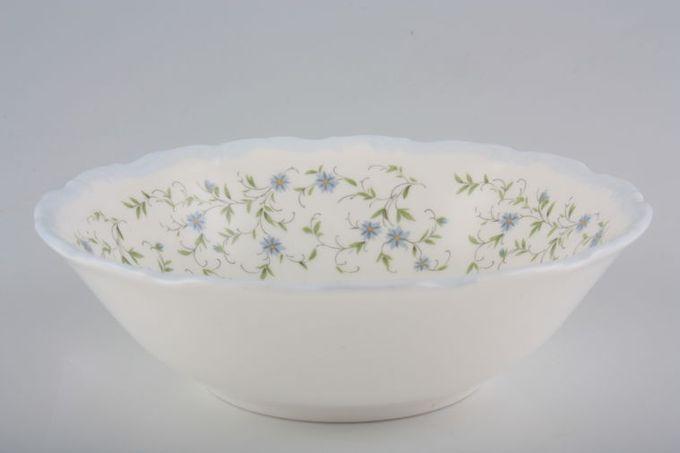 "Royal Albert Caroline Oatmeal / Cereal / Soup 6 1/4"""