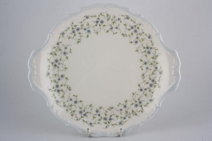 "Royal Albert Caroline Cake Plate 10 1/2"""