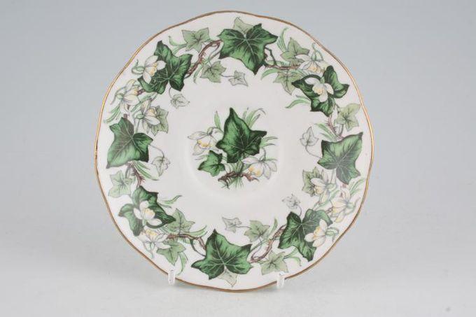 "Royal Albert Ivy Lea Tea Saucer 5 5/8"""