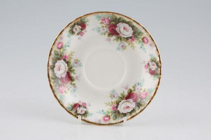 "Royal Albert Celebration Tea Saucer 5 1/2"""