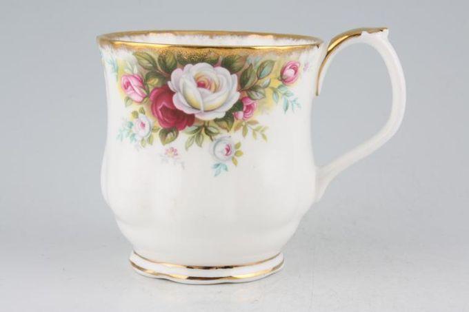 "Royal Albert Celebration Mug Montrose shape 3 1/8 x 3 1/4"""