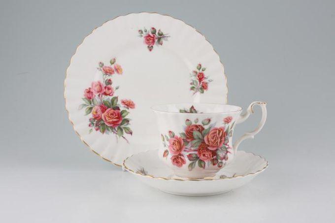 "Royal Albert Centennial Rose Tea Saucer 5 1/2"""