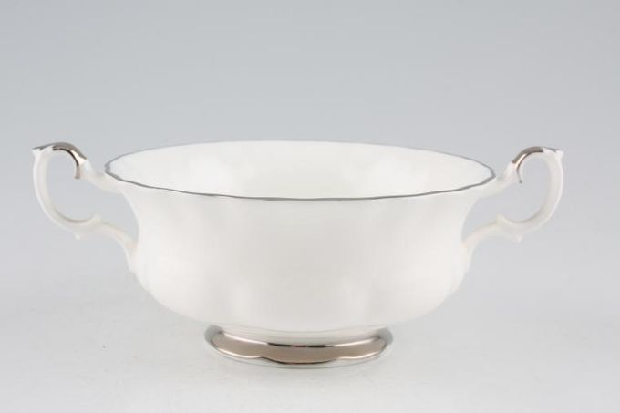 Royal Albert Chantilly Soup Cup 2 handles 4 1/2 x 2 1/8""
