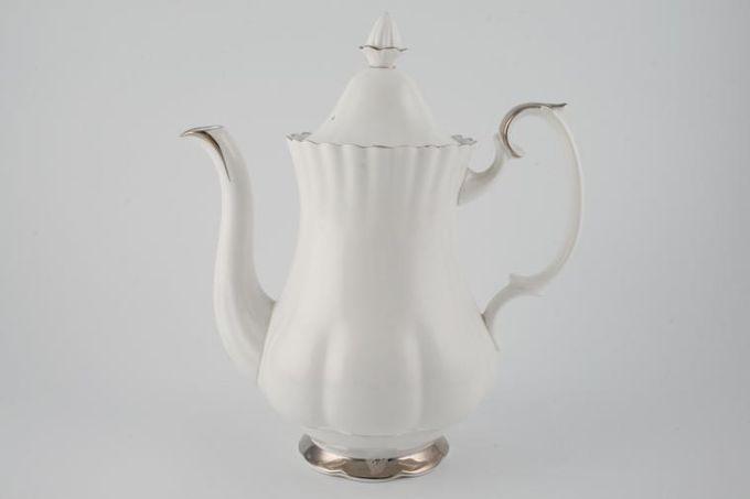 Royal Albert Chantilly Coffee Pot Large 2 1/2pt