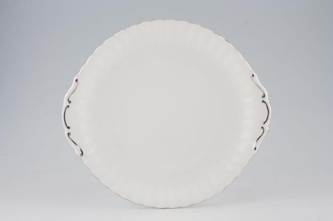"Royal Albert Chantilly Cake Plate Eared 10 1/2"""