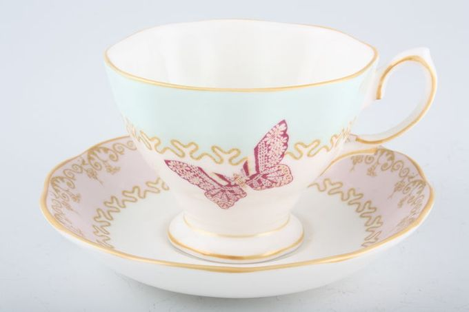 "Royal Albert My Favourite Things - Zandra Rhodes Teacup & Saucer 3 5/8 x 2 3/4"""