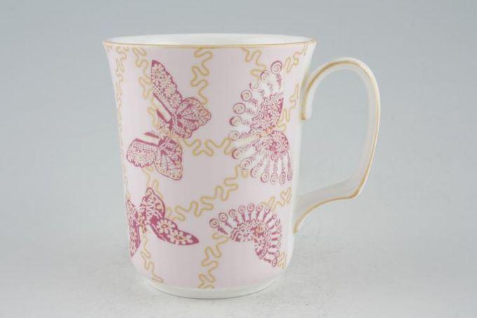 """Royal Albert My Favourite Things - Zandra Rhodes Mug Pink 3 3/8 x 3 7/8"""""""