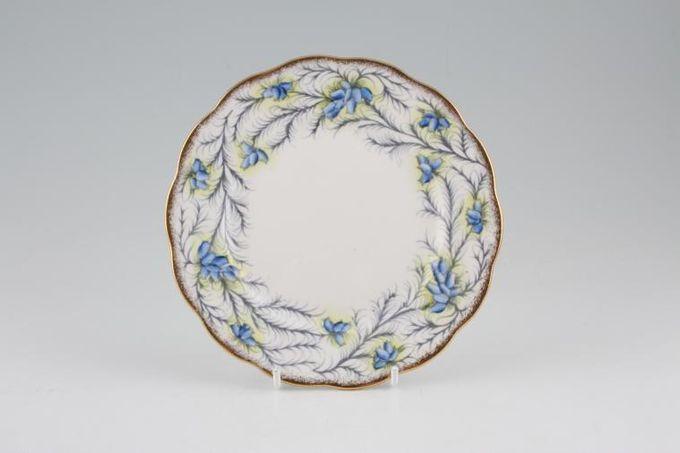 "Royal Albert Heather Bell - Blue Tea / Side / Bread & Butter Plate 6 1/4"""