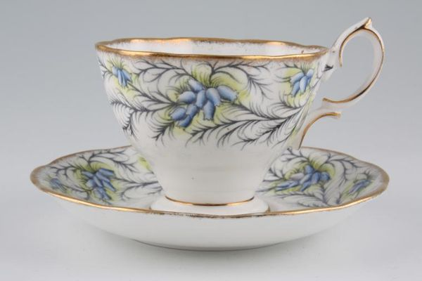 Royal Albert Heather Bell - Blue