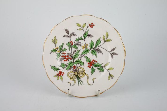 Royal Albert Flower of the Month Series - Hand Painted - Holly No.12