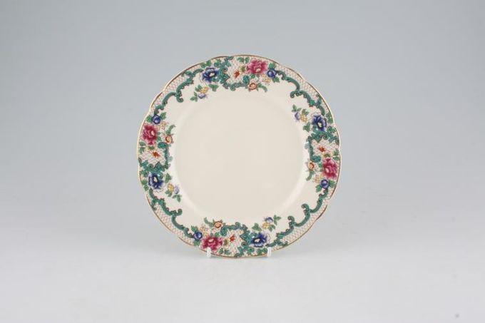 "Royal Cauldon Victoria Tea / Side / Bread & Butter Plate 7 1/4"""