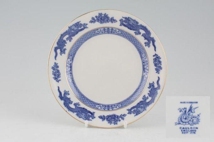 "Royal Cauldon Dragon - Blue - New Style Tea / Side / Bread & Butter Plate 6 5/8"""