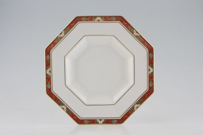 Royal Crown Derby Cloisonne - A1317 Breakfast / Salad / Luncheon Plate Octagonal - Deep 8 3/4""