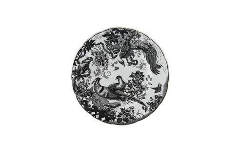 "Royal Crown Derby Black Aves Platinum - A1340 Tea / Side / Bread & Butter Plate 6 3/8"""