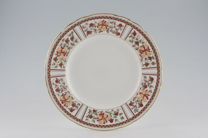 "Royal Crown Derby Honeysuckle - A1321 Dinner Plate 10 1/2"""