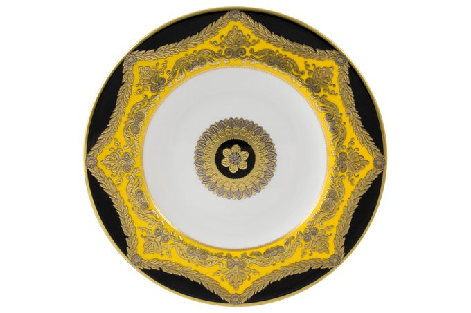 Royal Crown Derby Amber Palace Breakfast Plate 23cm