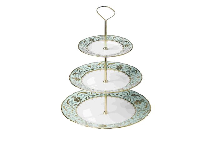 Royal Crown Derby Darley Abbey 3 Tier Cake Stand