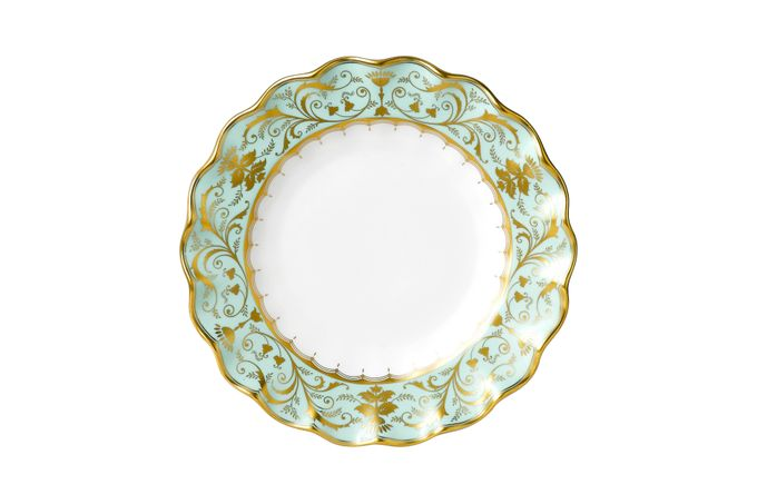 Royal Crown Derby Darley Abbey Side Plate Fluted Dessert Plate 22cm