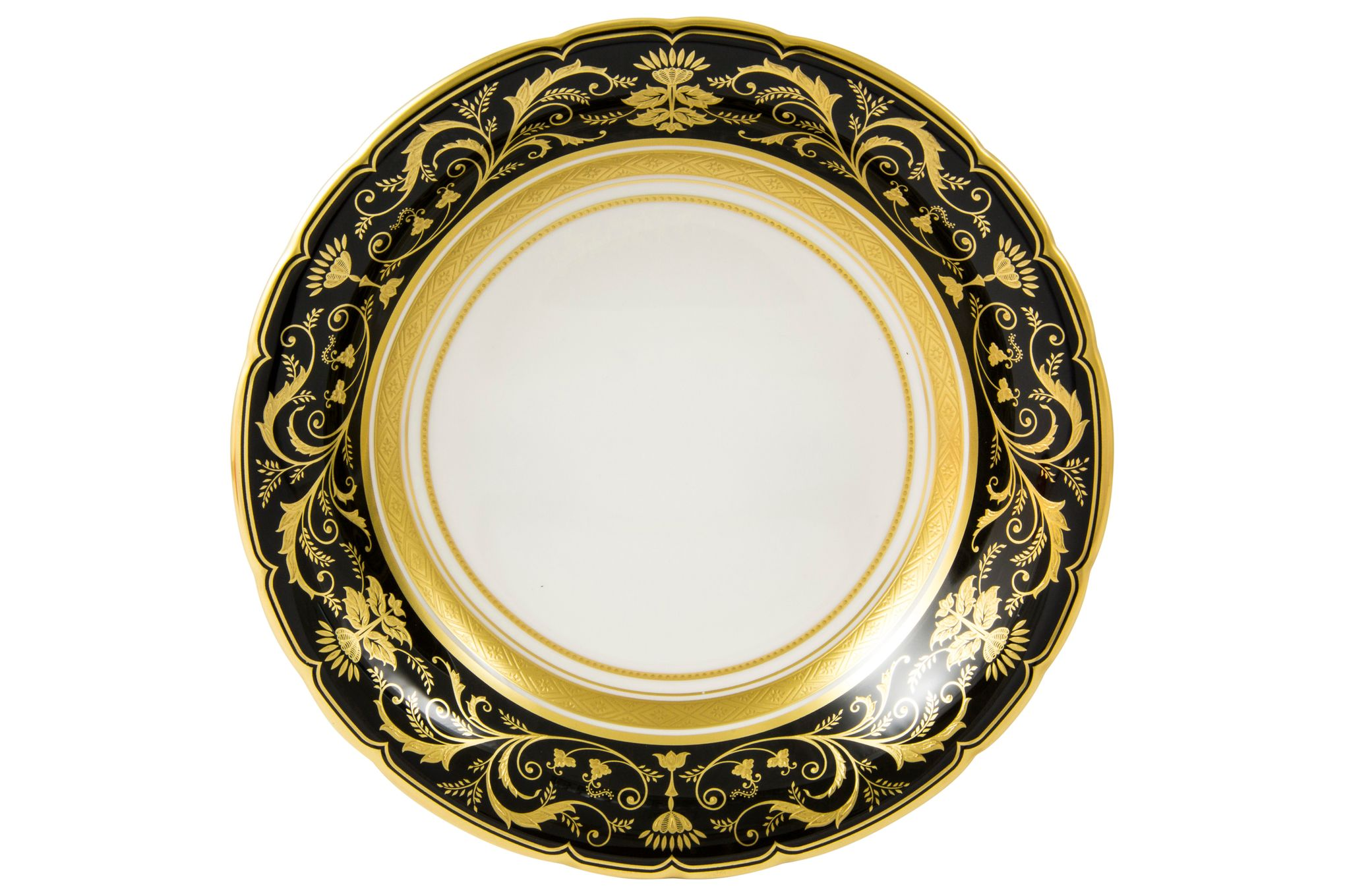 Royal Crown Derby Regency - Black Cereal Bowl 16.5cm thumb 2