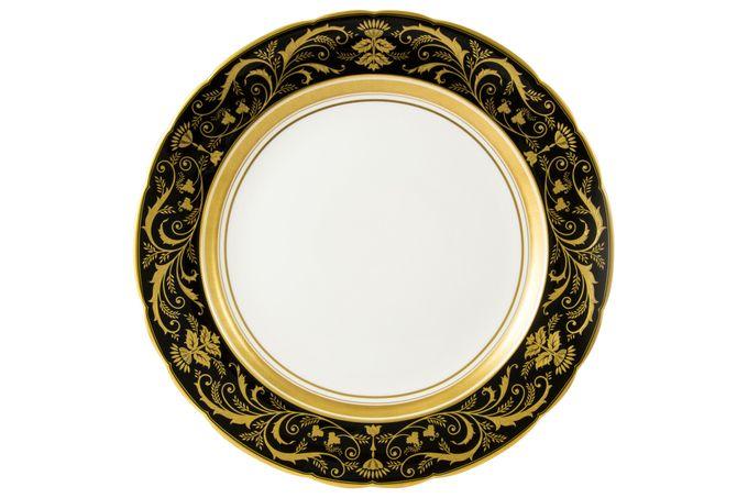 Royal Crown Derby Regency - Black Soup Tureen Stand 35cm