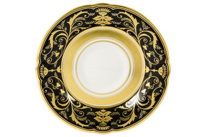 Royal Crown Derby Regency - Black Tea Saucer