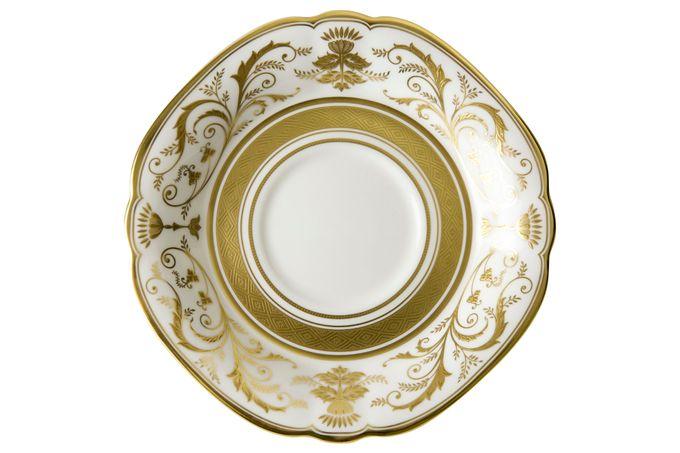 Royal Crown Derby Regency - White Breakfast Saucer