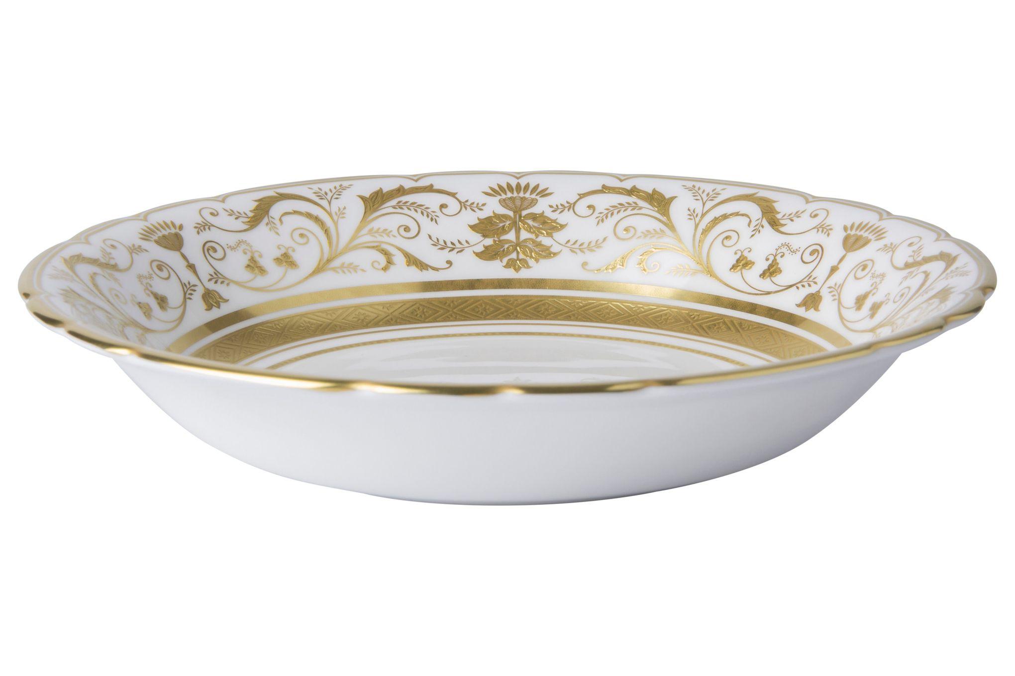 Royal Crown Derby Regency - White Cereal Bowl 16.5cm thumb 1