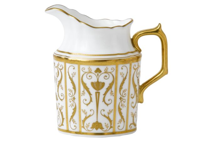 Royal Crown Derby Regency - White Milk Jug