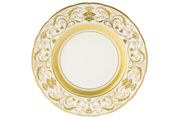 Royal Crown Derby Regency - White Dinner Plate 27cm