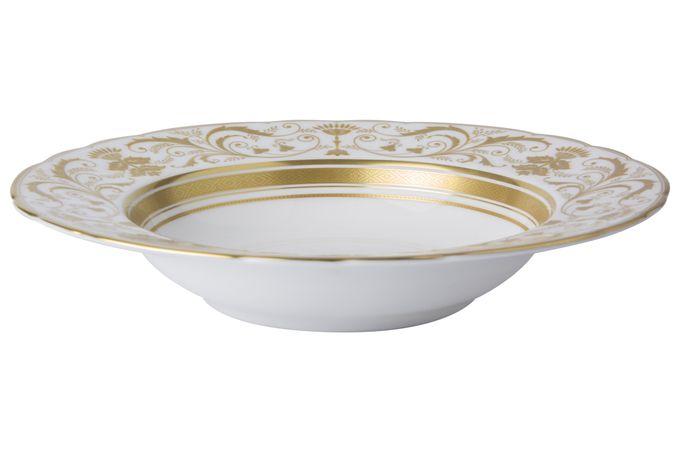 Royal Crown Derby Regency - White Rimmed Bowl 21.5cm