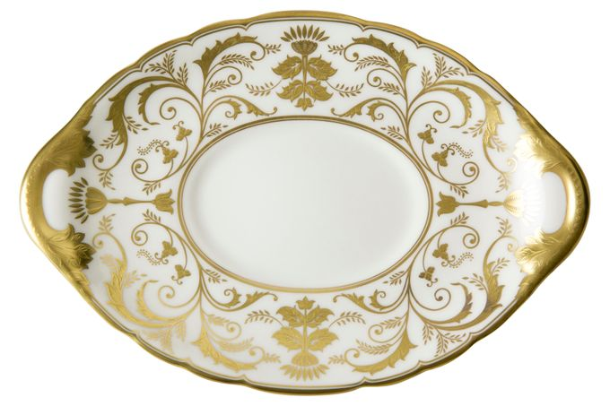 Royal Crown Derby Regency - White Sauce Boat Stand