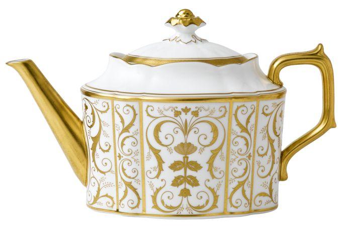 Royal Crown Derby Regency - White Teapot 1.2l