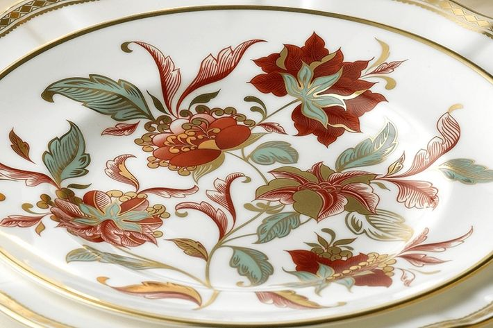 Royal Crown Derby Seasons Accent Plates
